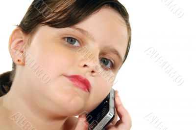Child With Cell Phone 4