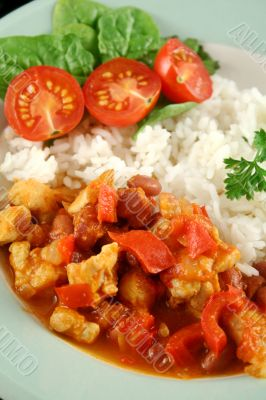 Chicken And Lentil Stew With Rice 4