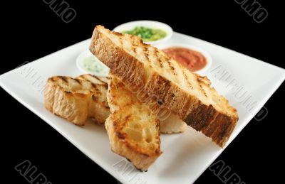 Turkish Bread And Dips 4