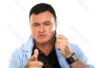 Tough Guy Pointing