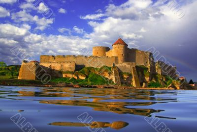 Citadel on the Dnestr estuary.