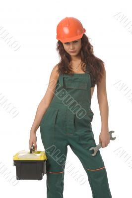 worker woman