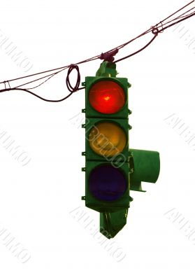 Old Traffic Light