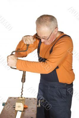 drill a hole