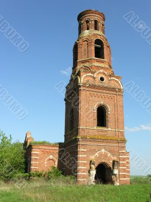 Abandoned church in the Tula region of Russia