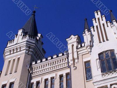 Kyiv sightseeing. Richard`s castle