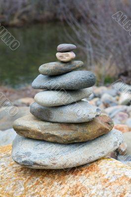 Rocks in balance