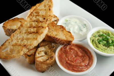 Turkish Bread And Dips 5