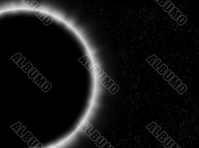 Eclipse close-up