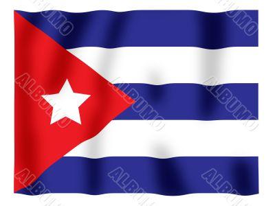 Cuba fluttering