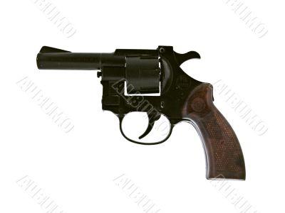 gun. revolver