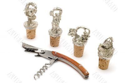 wine cork and stopper