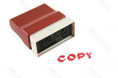 Used Copy Stamp