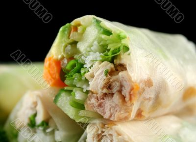 Vietnamese Rice Paper Rolls 5