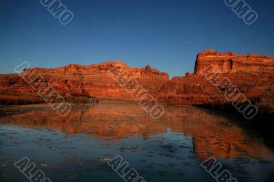 colorado River Reflections 3