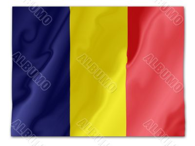 Romania fluttering