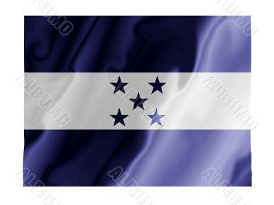 Honduras fluttering