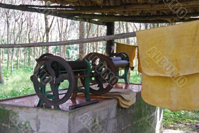 Rubber Making A