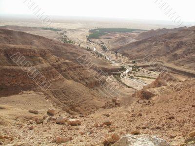 Desert Sahara. Tunis.