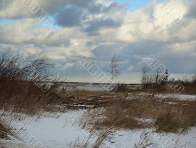 Baltic sea.Latvia