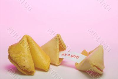 Fortune Cookie - Birth Announcement