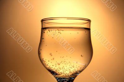 Golden champagne