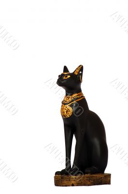 Egyptian culture black cat