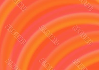Abstract background with orange semicircles