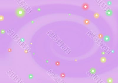 Abstract lilac background with small balls