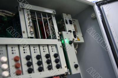 Electric control unit.