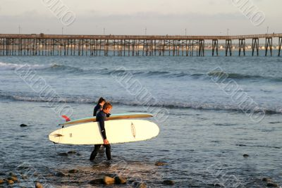 Off To Sunset Surf