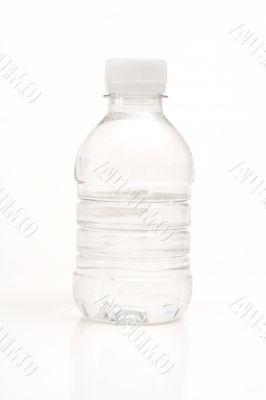 bottled water on white vertical