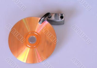 CD With Padlock