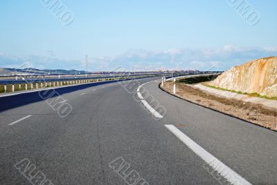 A6 Highway Curve