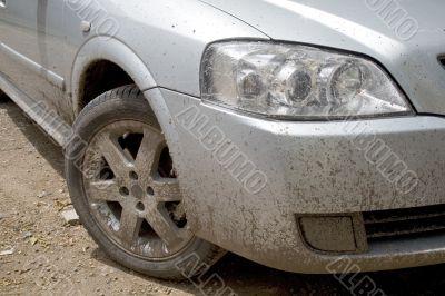 Very dirty car