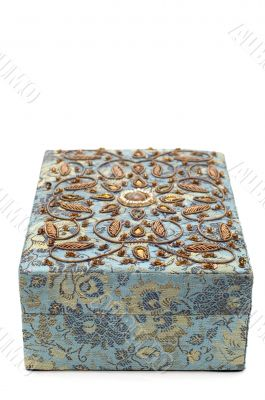 casket with stone