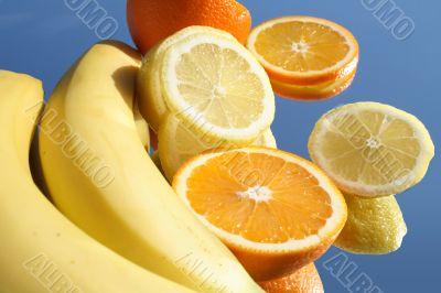 Fruits in sunlight