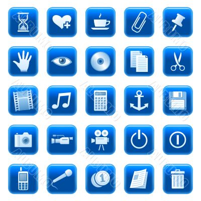 Web icons, buttons 3