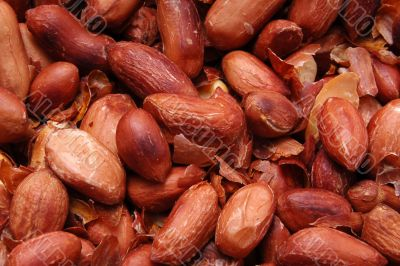fried peanut background
