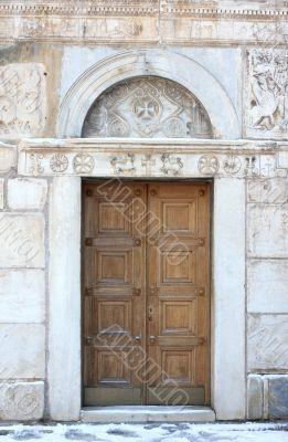 Antique Orthodox Church Door