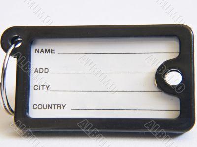 Name-tag black
