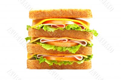 Double ham sandwich