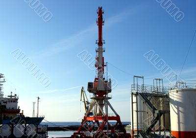 """The Base of the oil project """"Sakhalin""""."""