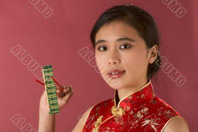 Asian hi-tech girl