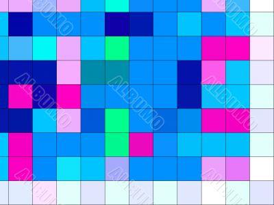 molten  abstract colours