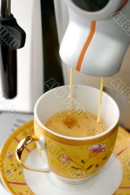 Espresso Preparing