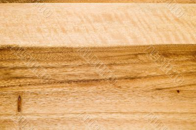 wooden preparation table macro
