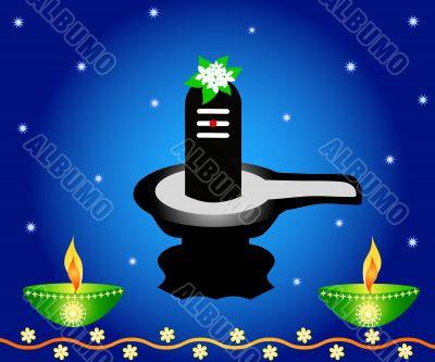 Indian God Shivalinga