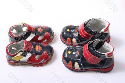 Children`s footwear