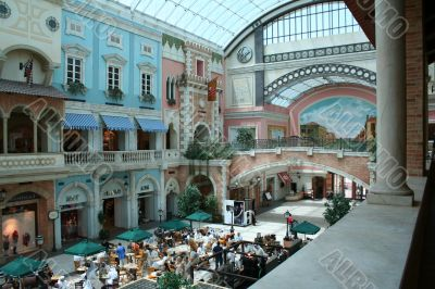 UAE. Dubai. Shopping center `Mercato`